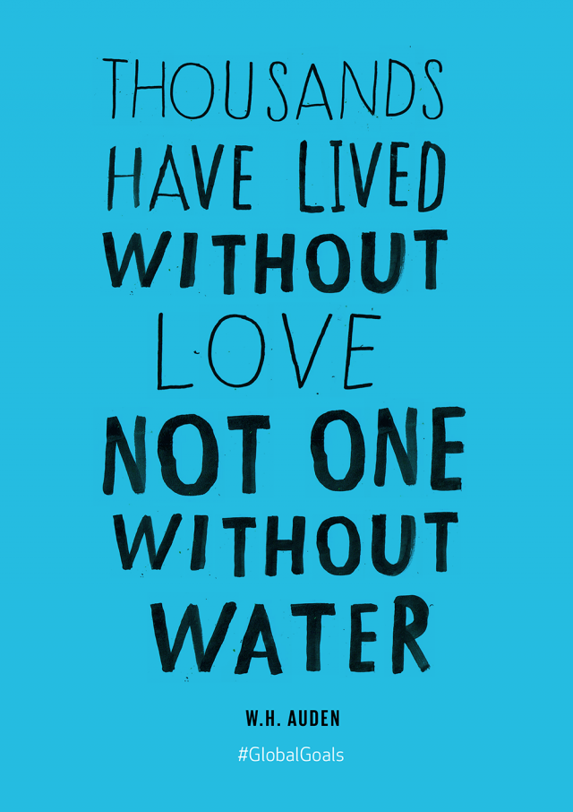 Clean Water and Sanitation Quote