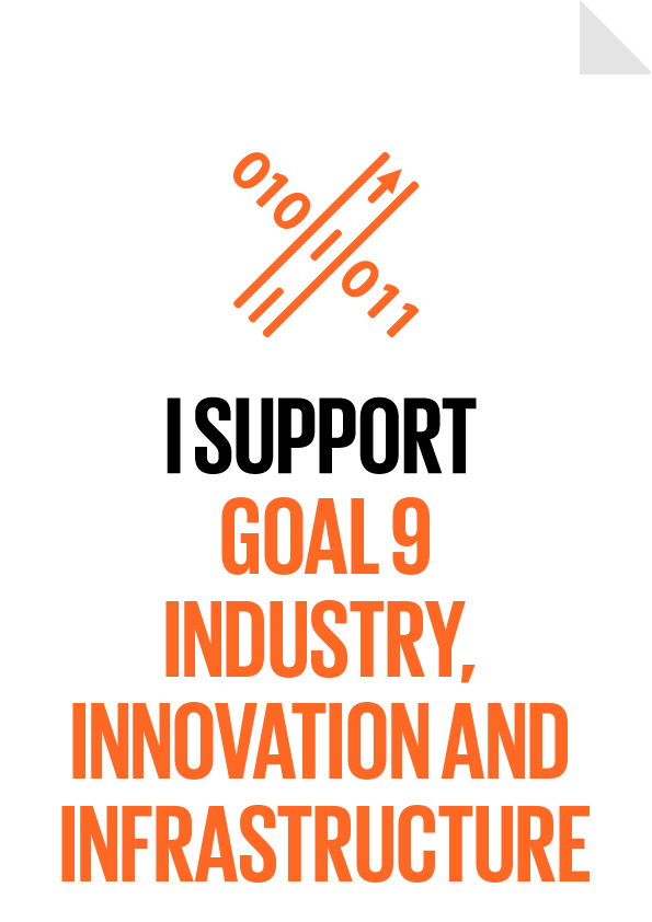 I support Goal 9 - Industry, Innovation and Infrastructure