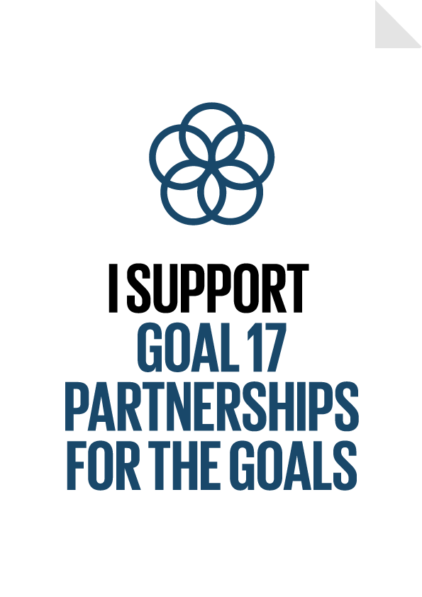 Goal 17 - Partnerships for the Goals Poster
