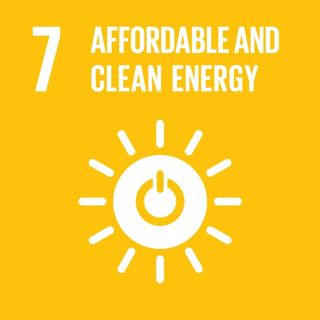 Global Goals Goal 7 Affordable and clean energy