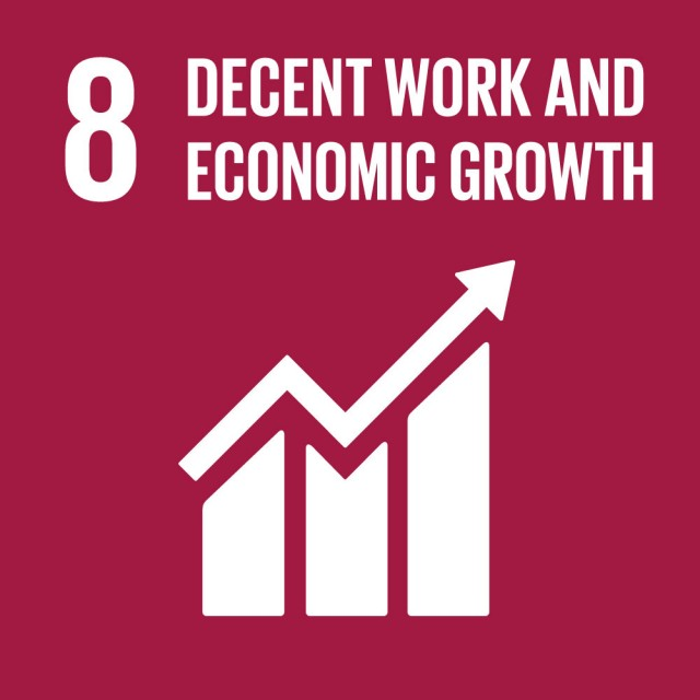 Global Goals Goal 8 Decent work and economic growth